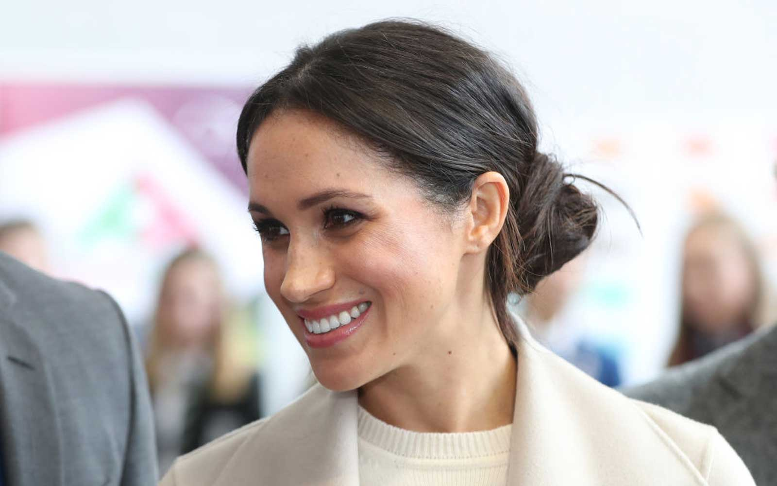 Meghan Markle Just Hinted at Having a Royal Baby of Her Own (Video)