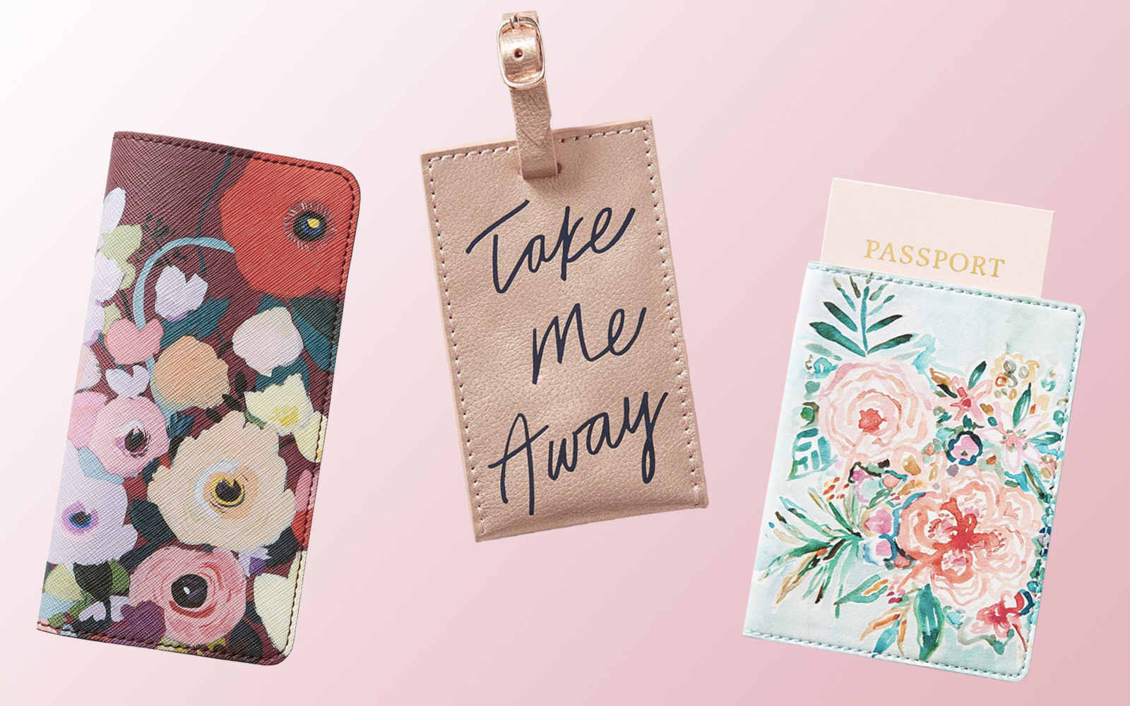 These Floral Travel Accessories From Anthropologie and Nordstrom Are Perfect for a Spring Vacay