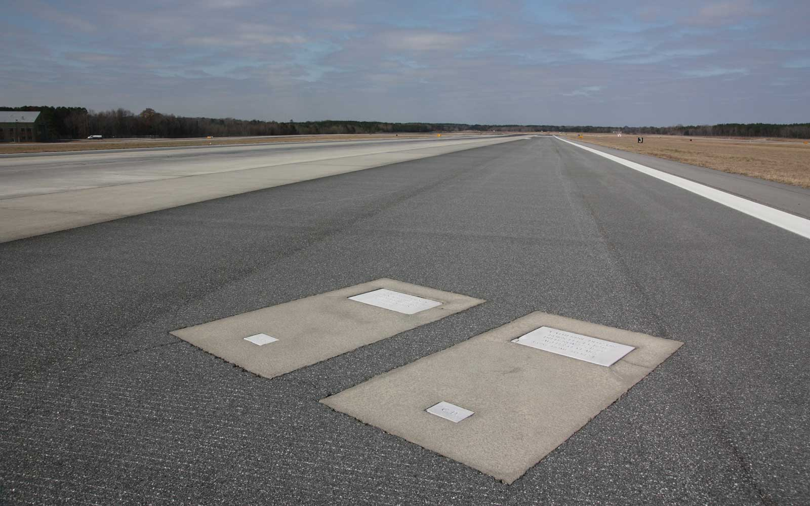 Why the Savannah Airport Has Two Gravestones Embedded in a Runway