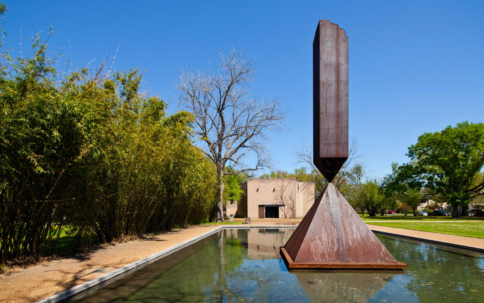Broken Obelisk, Rothko Chapel, Houston, Texas
