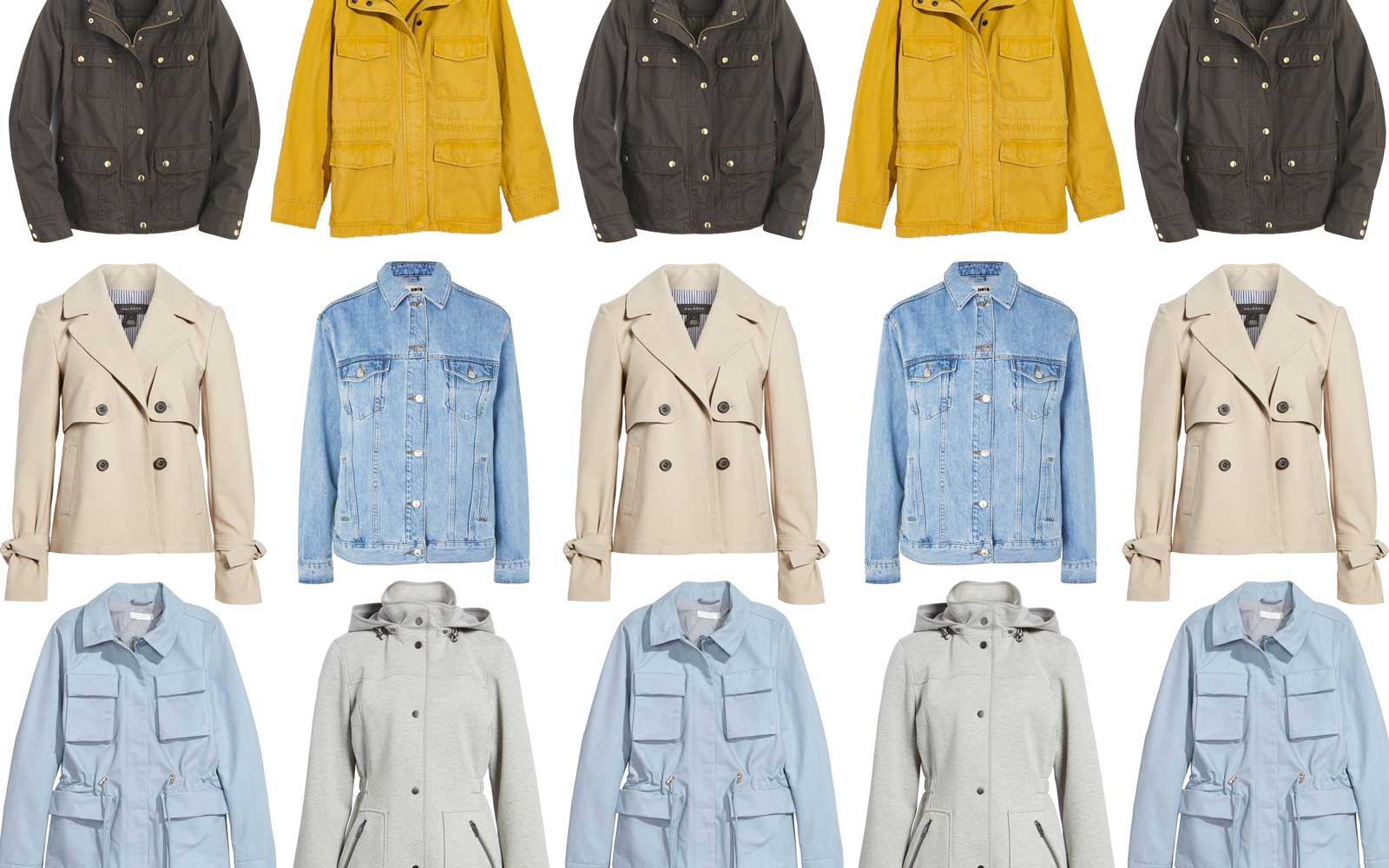 Chic Spring Jackets to Wear on Your Next Trip