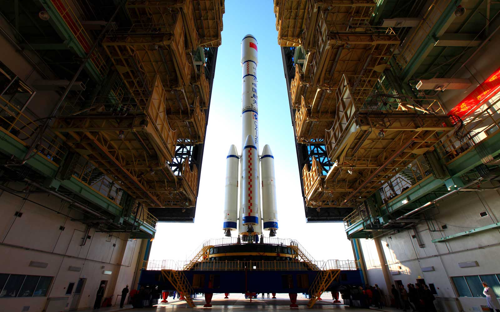 "China Prepares To Launch The Space Module ""Tiangong-1"""