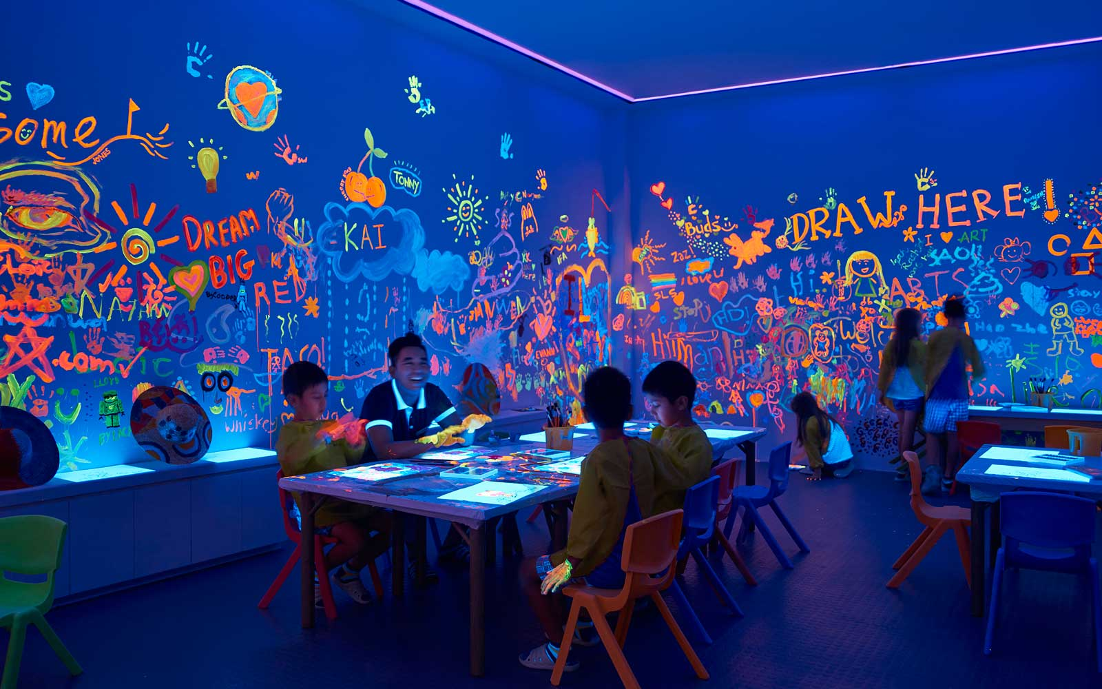 Shangri-La Singapore, Children's Spaces