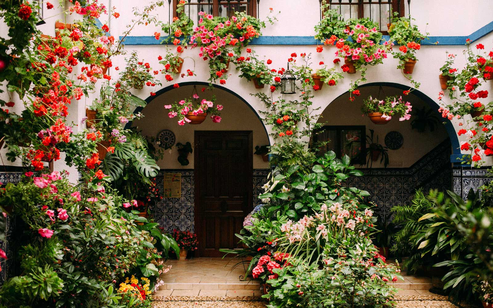 Every Spring, This Spanish Town Has a Flower Festival That's Bursting With Color