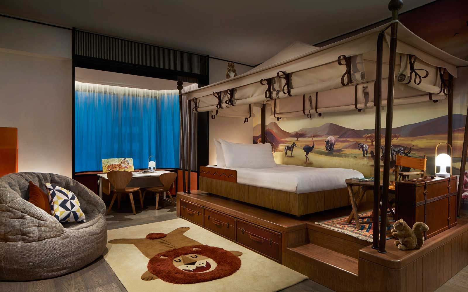 this hotel's new space safari and underwaterthemed