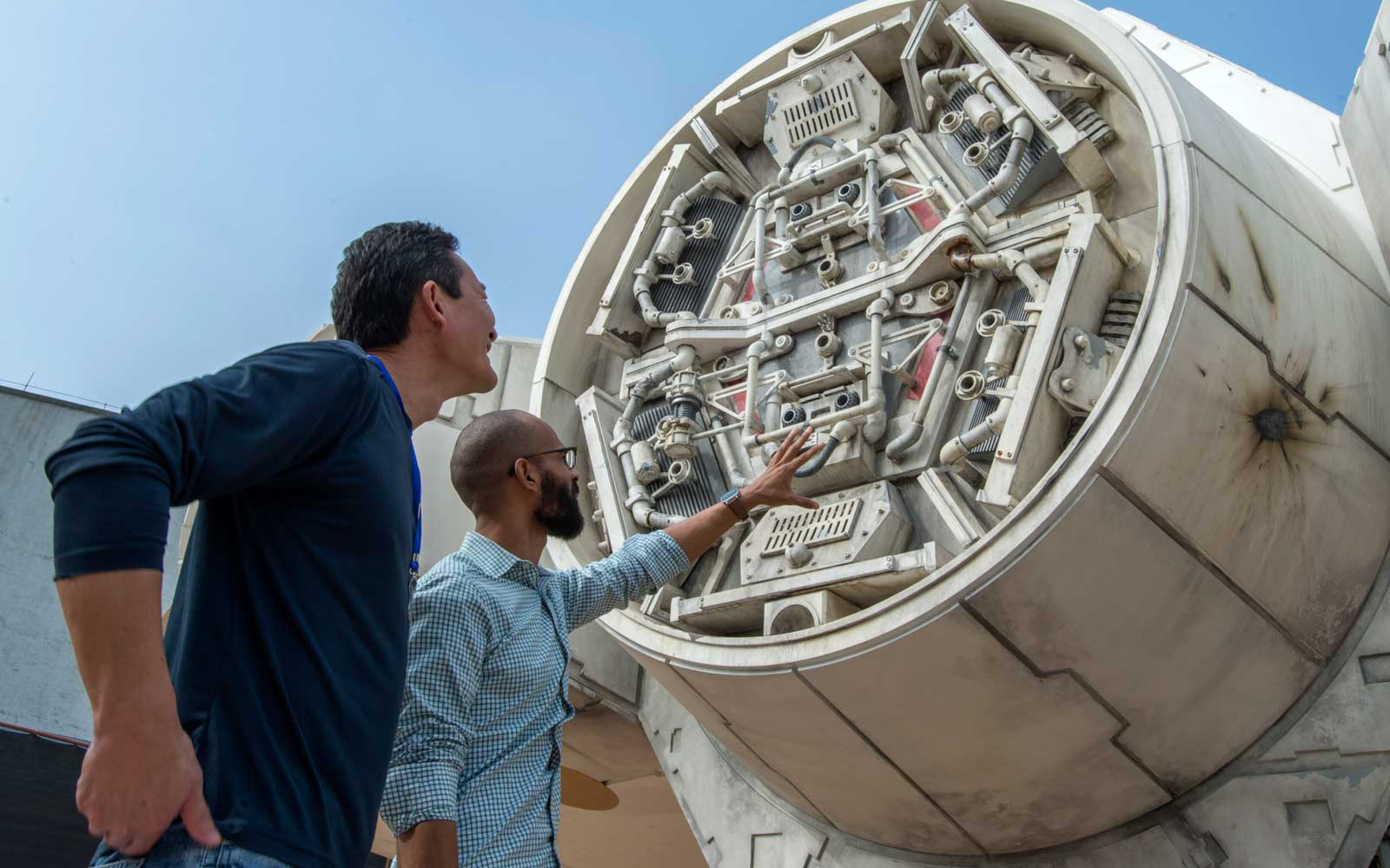 Here's Our First Behind-the-scenes Look at Disney's Star Wars Millennium Falcon Ride
