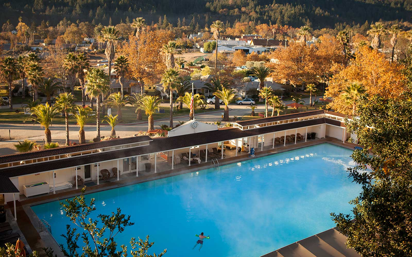 Mineral Pool at Indian Springs Calistoga