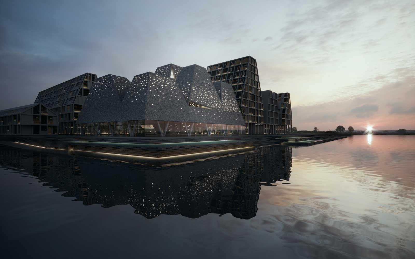 Water Culture House in Copenhagen