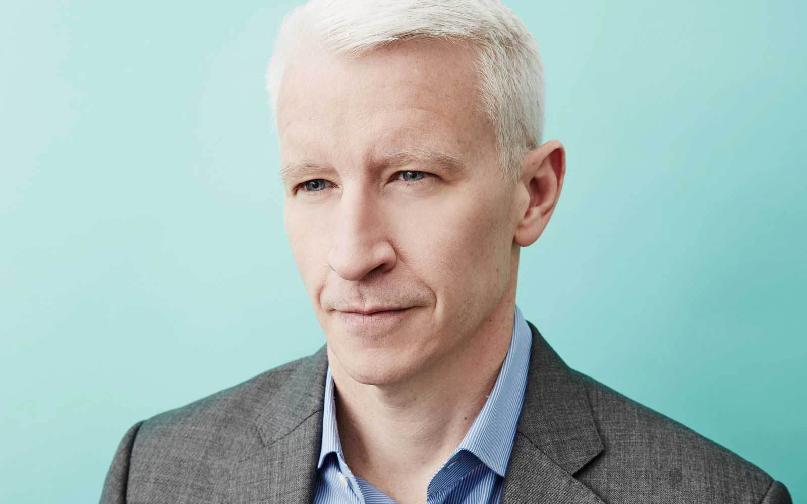 Why Anderson Cooper Orders Room Service Off the Kids' Menu