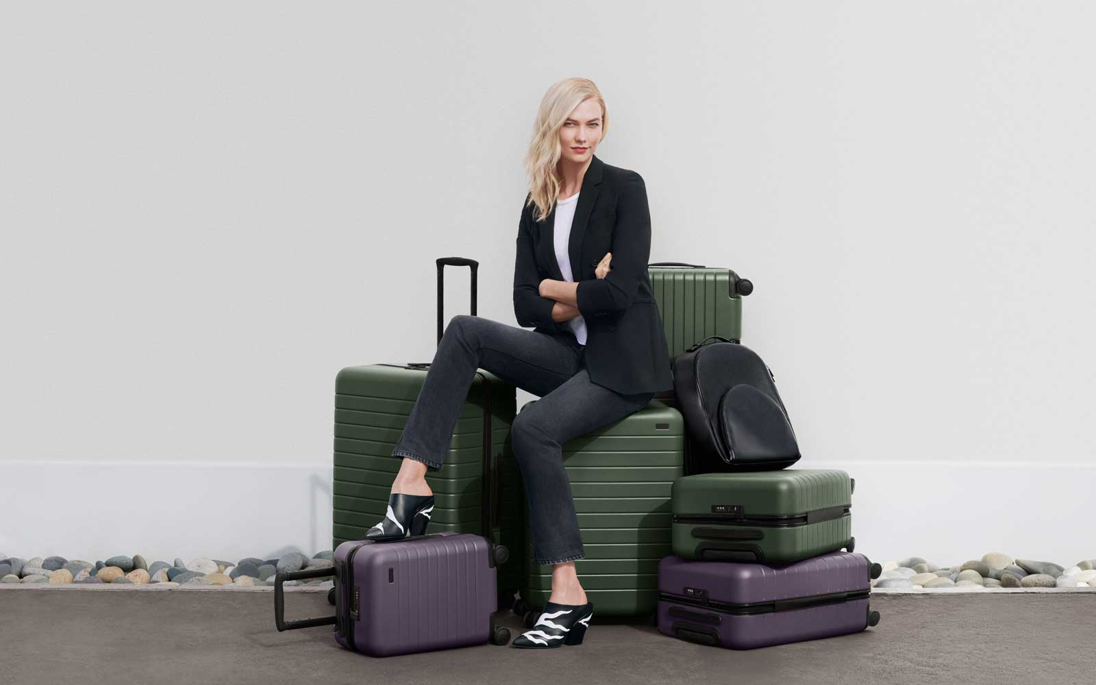 Karlie Kloss Has a New Away Luggage Collection