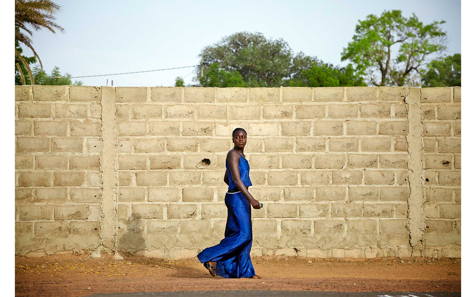 Blue Dress, Senegal, 2011 from Circadian Landscape by Jessica Antola