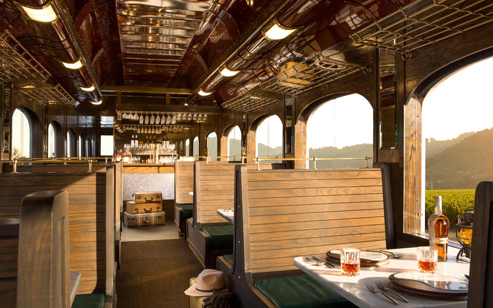 The Napa Valley Wine Train Is Once Again Turning Into a Special Tequila Train