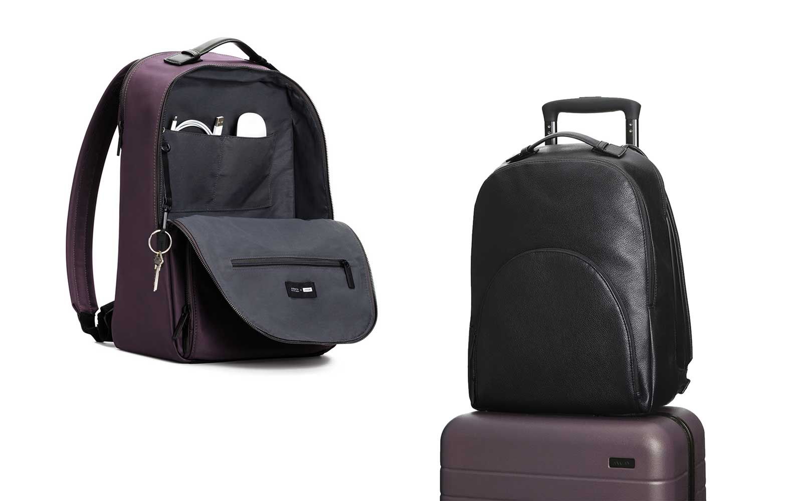 kode with klossy away luggage