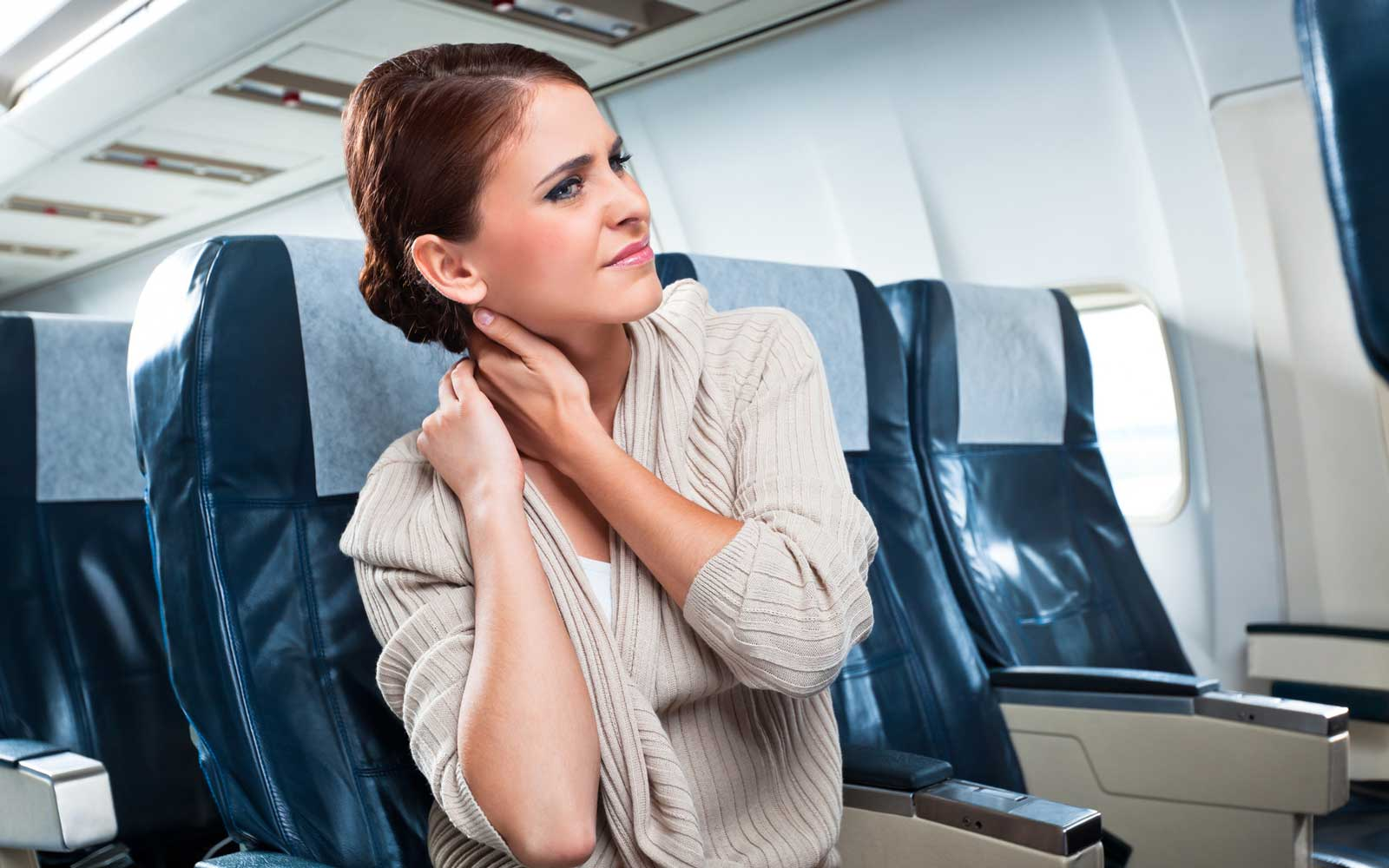 Health problem on an airplane