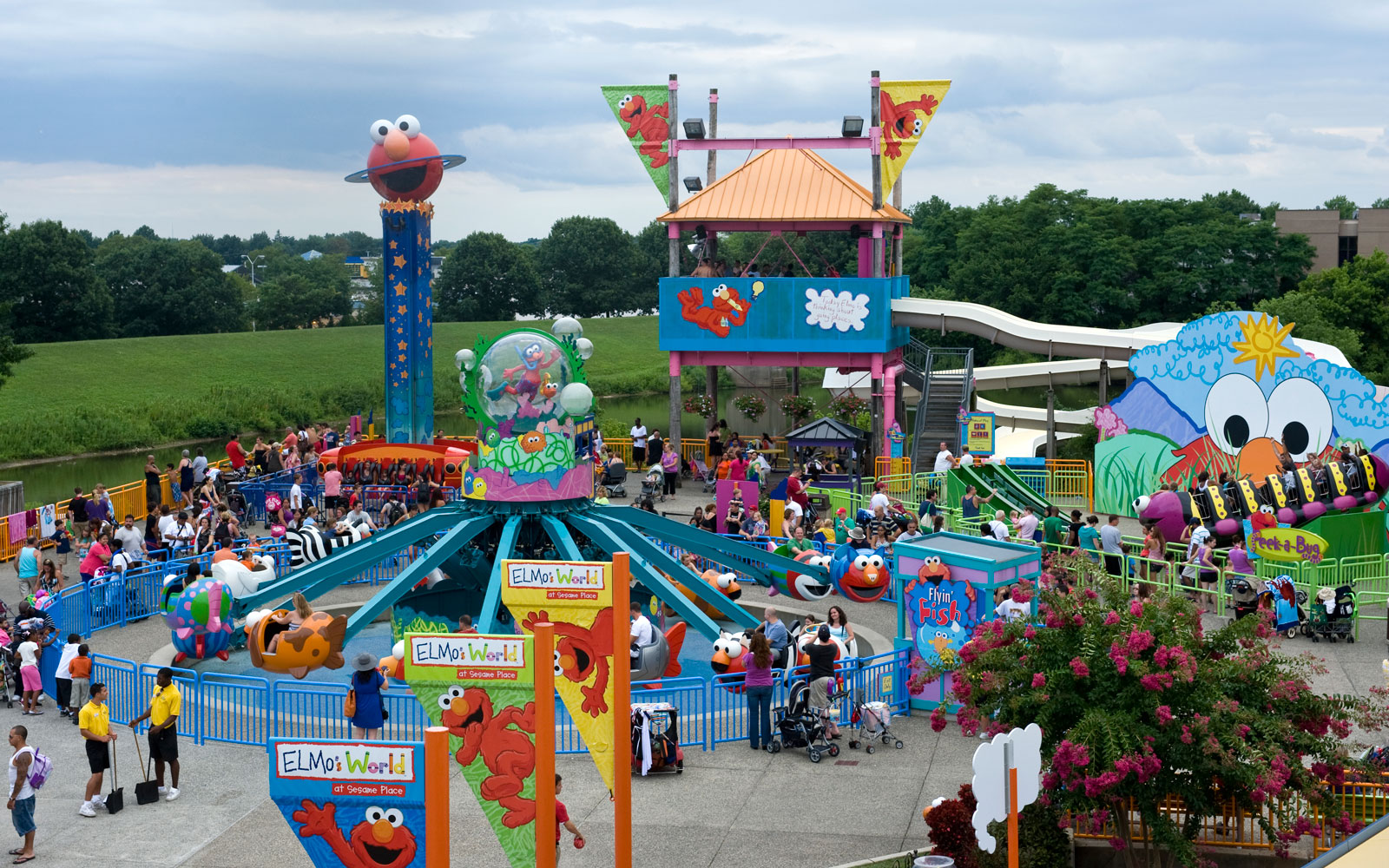 Sesame Place Is Now the World's First Certified Autism Center Theme Park