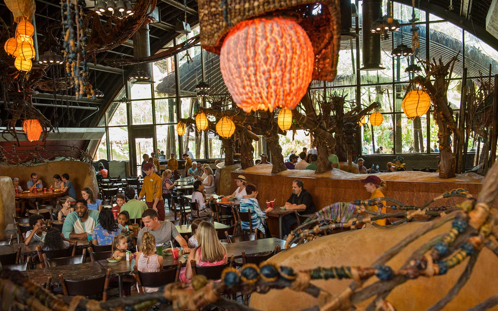 Satu'li Canteen Restaurant at Disney's Animal Kingdom