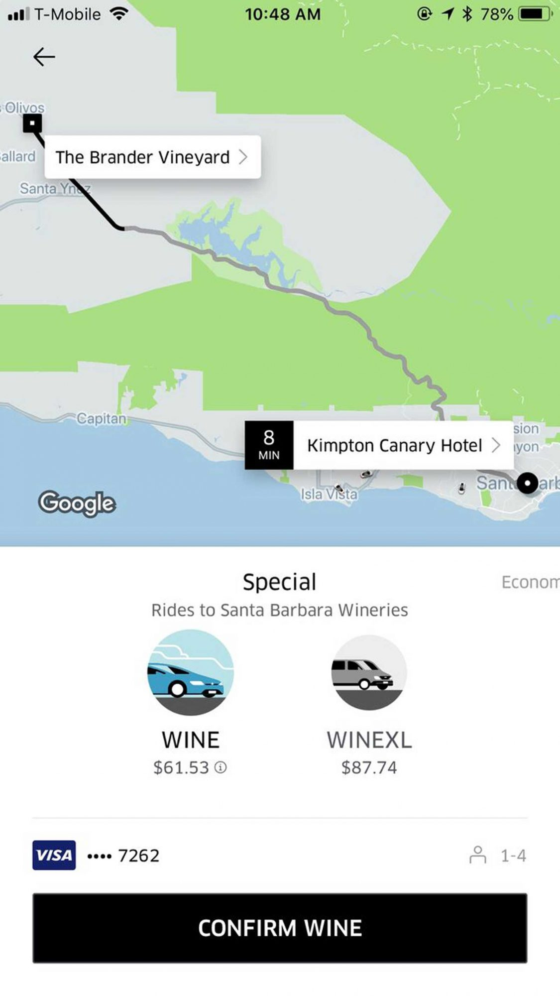 UberWINE Is Here So You Can Finally Vineyard Hop Without a ... on san diego wine tasting map, cambria wine tasting map, los olivos wine tasting map, solvang ca map, napa wine tasting map, edna valley wine map, central valley wine map, foxen wine trail map, paso robles wine tasting map, willamette valley wine tasting map, solvang wineries map, solvang century map, wine tasting sonoma map, santa rita hills appellation map, california wine tasting map, amador county wine tasting map, sutter creek wine tasting map, santa rita hills wineries map, napa valley driving map, temecula wine tasting map,