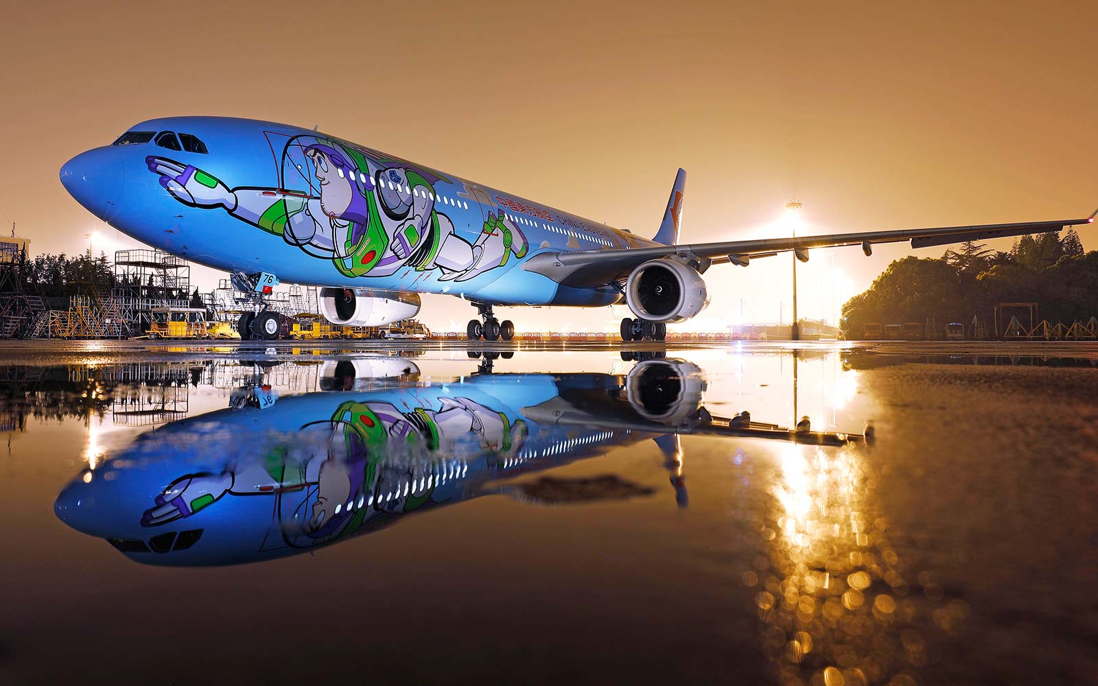 A Toy Story-themed Plane Is Here to Take You to Infinity and Beyond