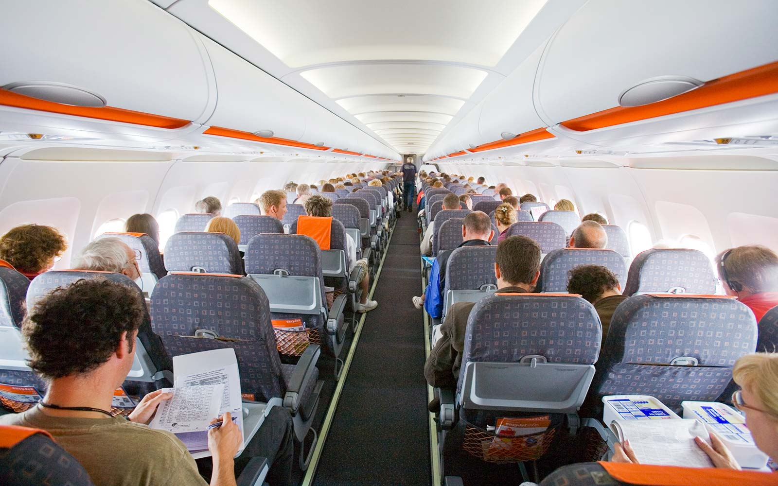 Airplane Passengers Travel
