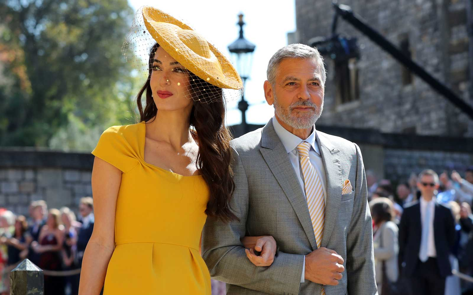 George Clooney Was the King of the Dance Floor at the Royal Wedding After-party