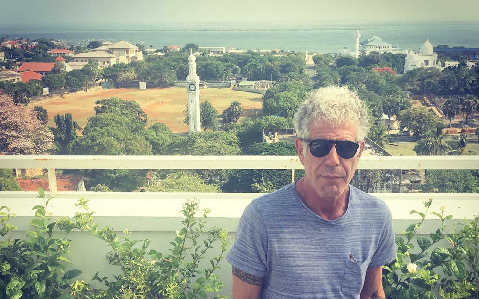 The Surprisingly Boring Thing Anthony Bourdain Loves to Do When He's Not Traveling