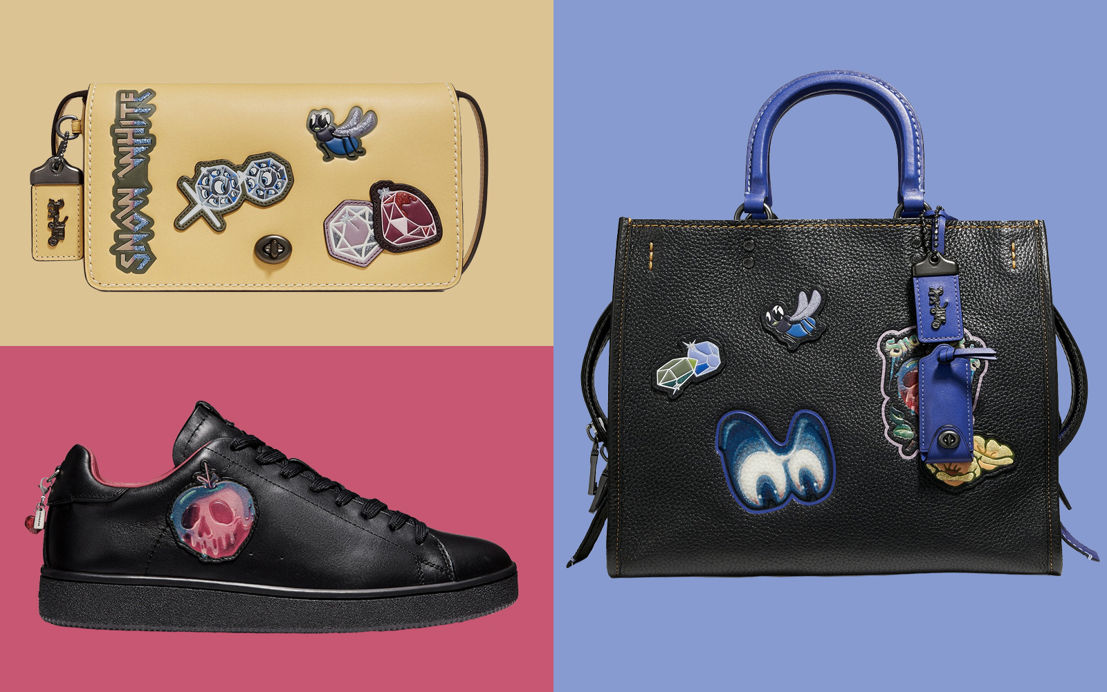 Coach Just Launched the Disney Villain-inspired Collection Evil Queens Everywhere Have Been Waiting for