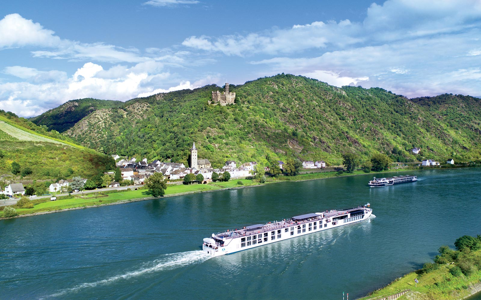 Cruising the Rhine on the New Crystal Bach River Cruise