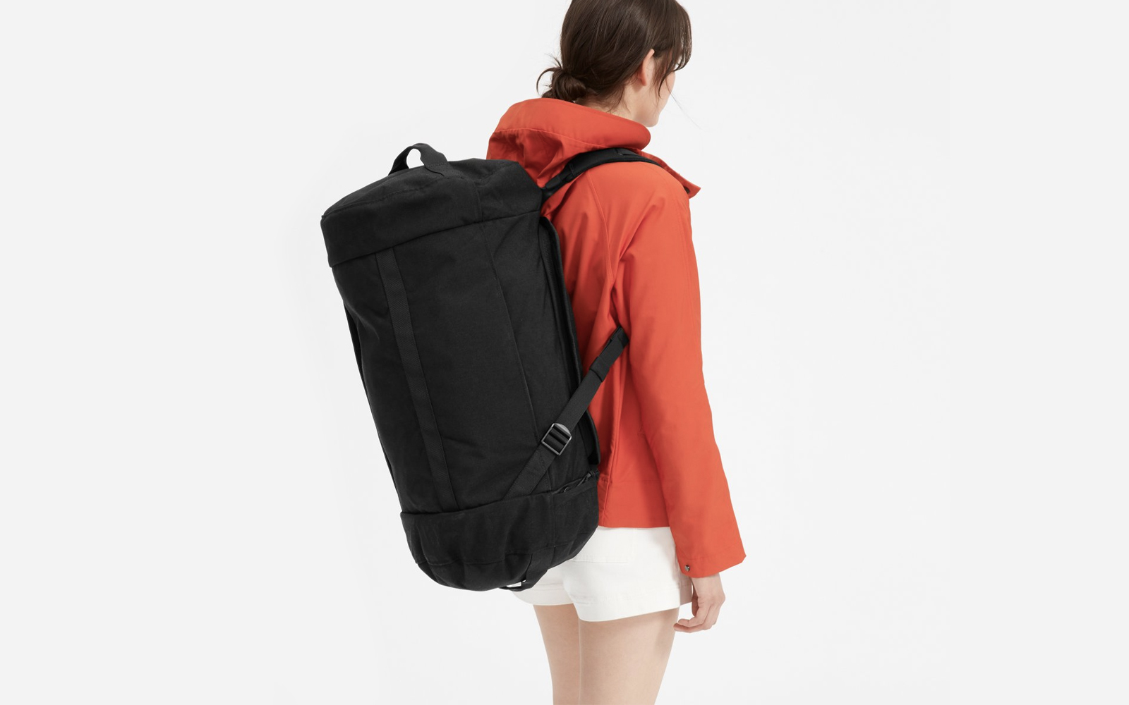 Everlane's Genius New Travel Bag Is Both a Backpack and a Duffel