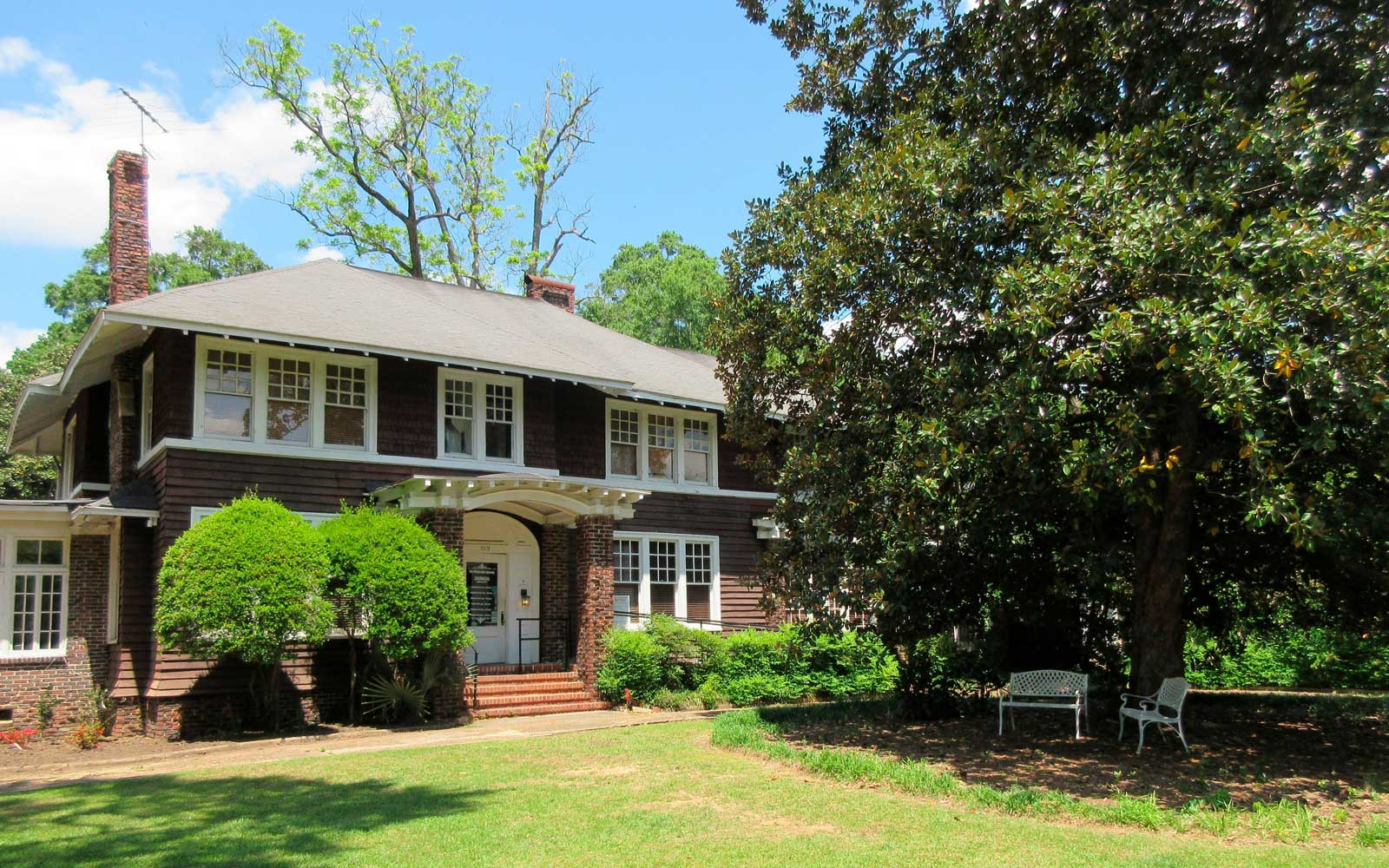 F. Scott and Zelda Fitzgerald Museum in Montgomery, Alabama