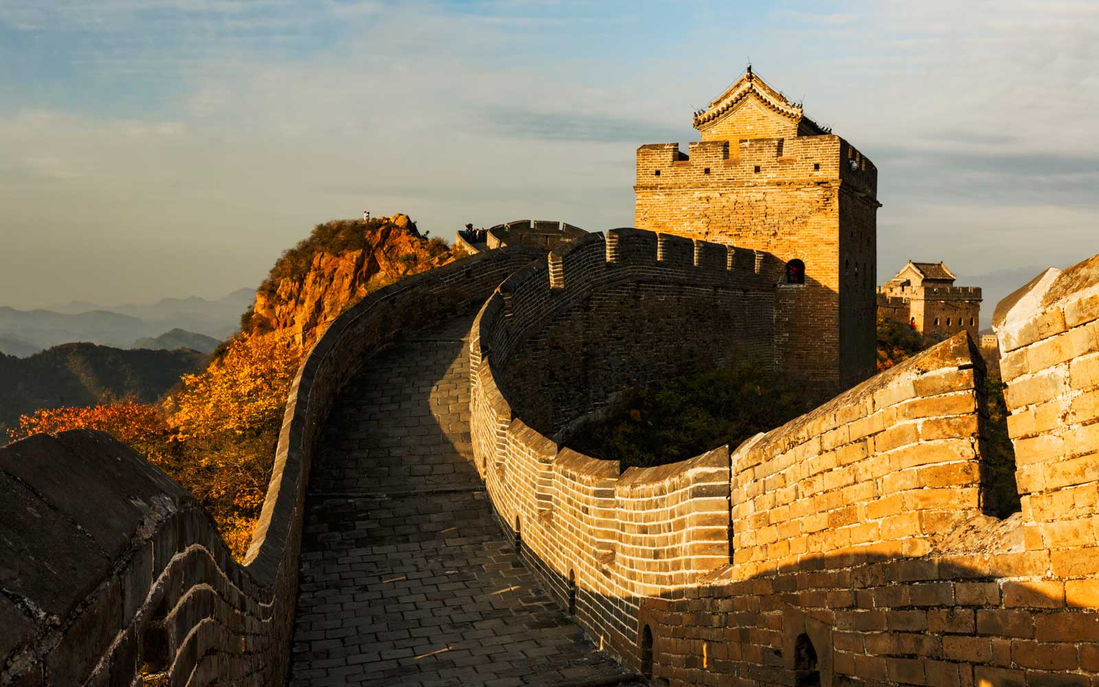 The Great Wall of China Is Getting Restored With the Help of Drones