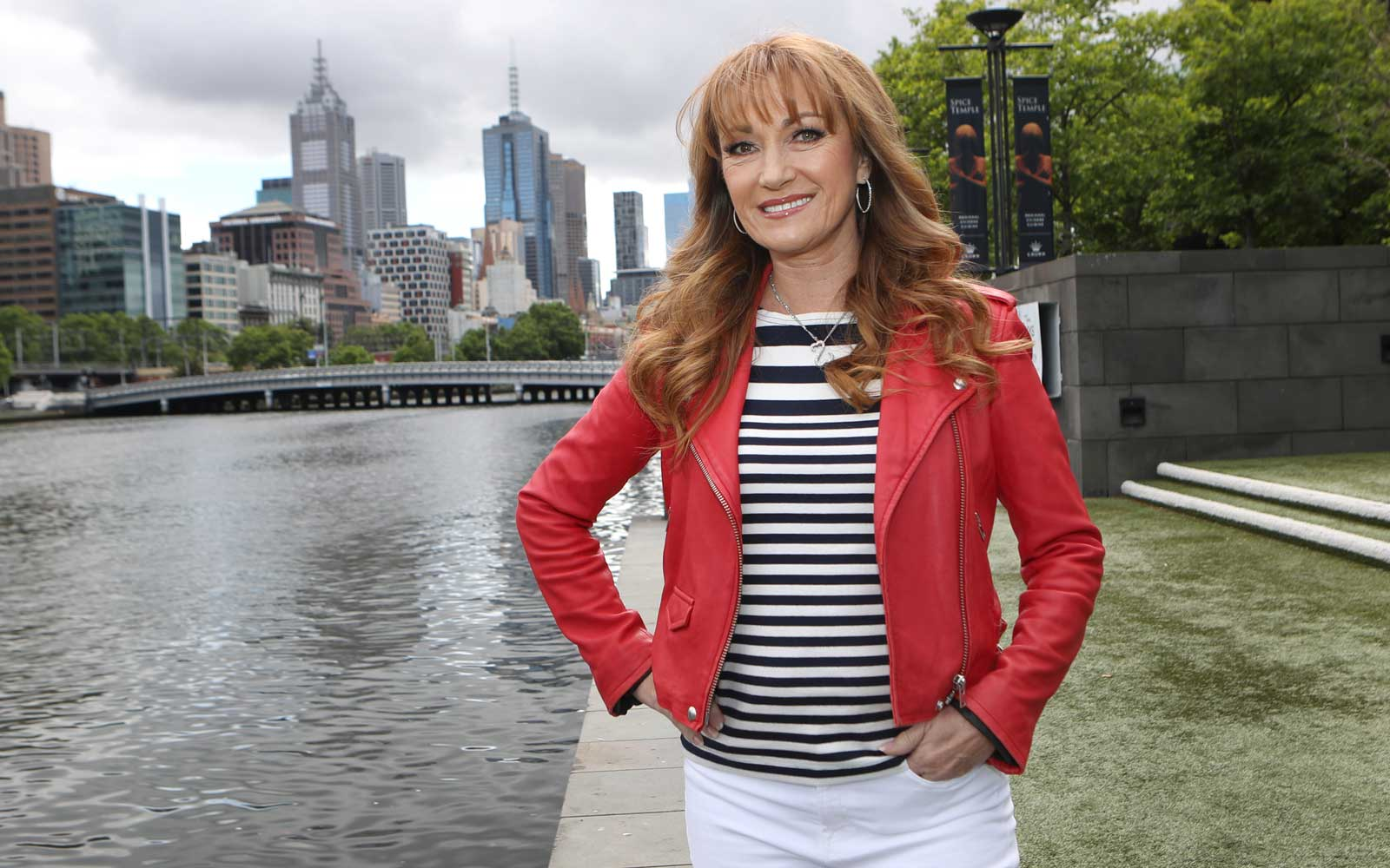 Actress Jane Seymour poses during a photo shoot in Melbourne, Victoria, Australia, Nov 2017
