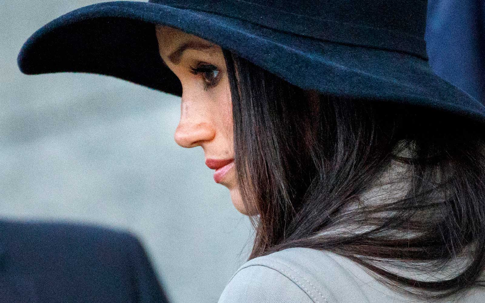 Megan Markle attends Anzac day services