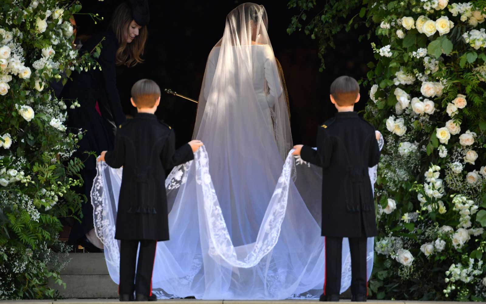 See Meghan Markle's Givenchy Wedding Dress From Every Angle