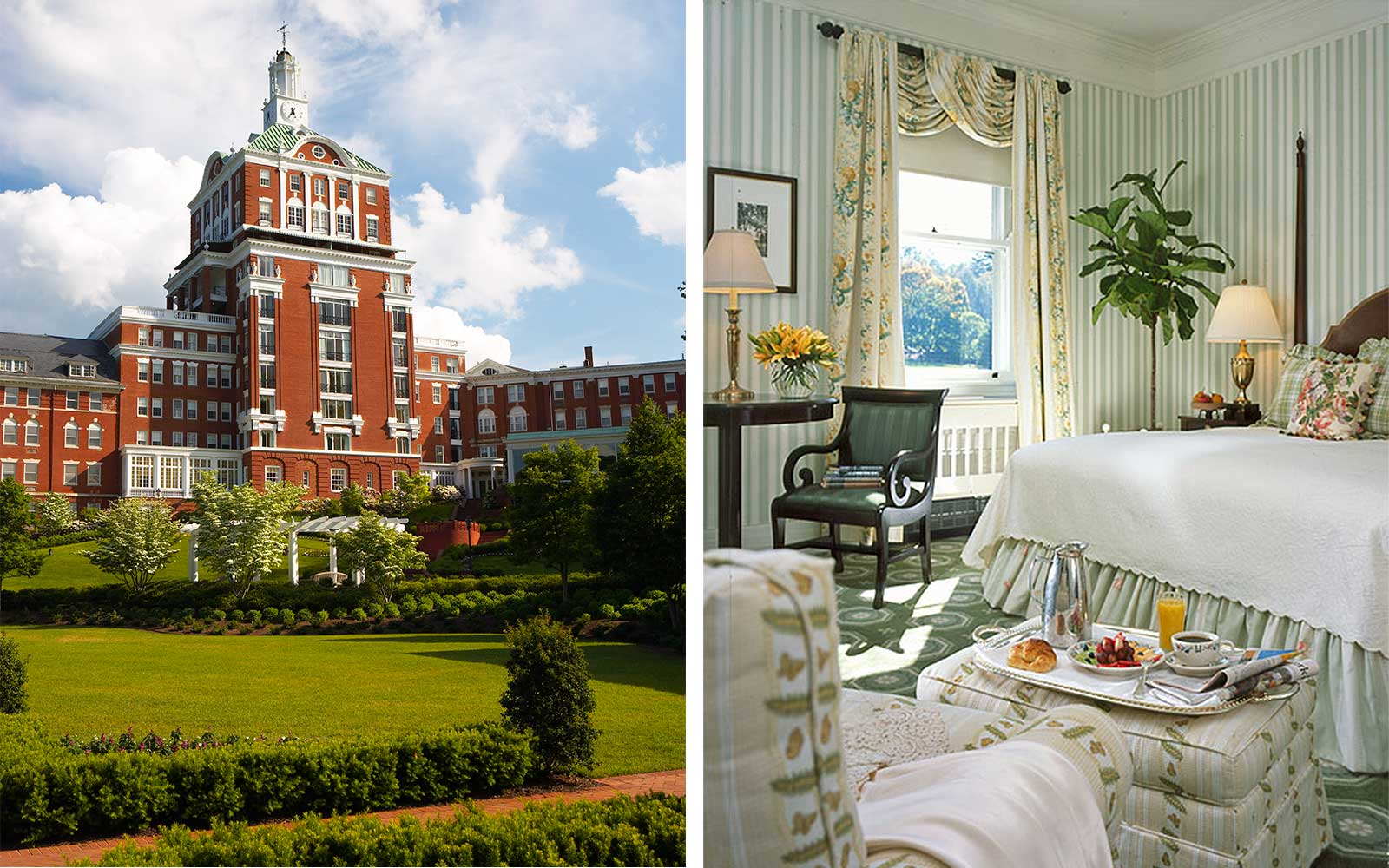 Omni Homestead Resort in Hot Springs, Virginia