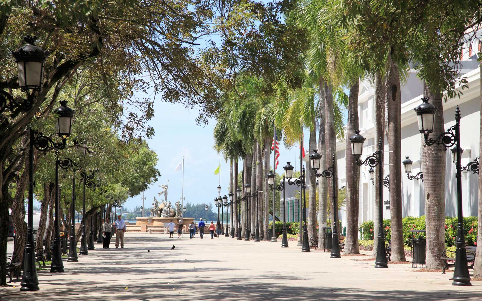 Paseo de la Princesa (Walkway of the Princess), Old San Juan