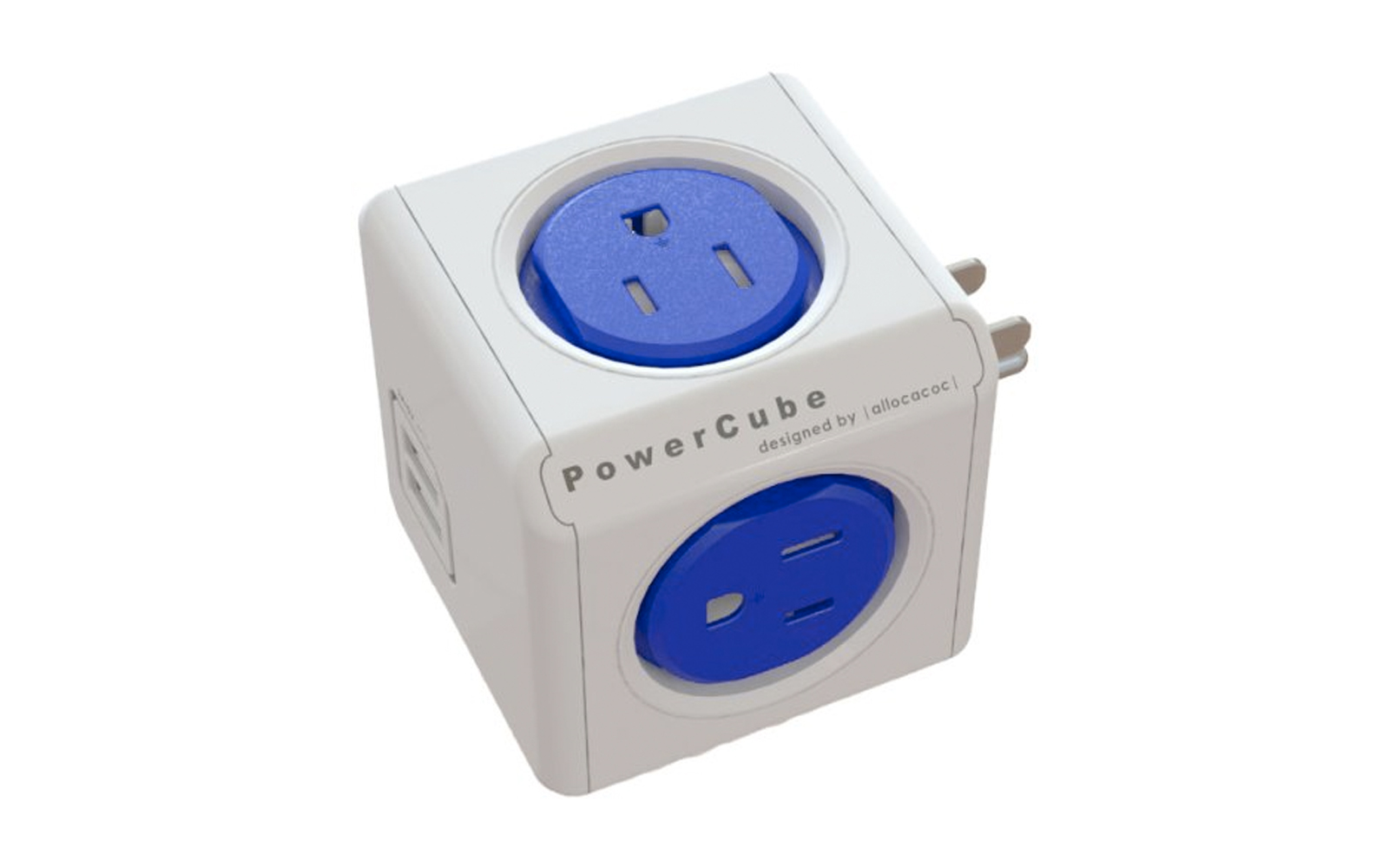 PowerCube Electric Outlet Wall Adapter Power Strip