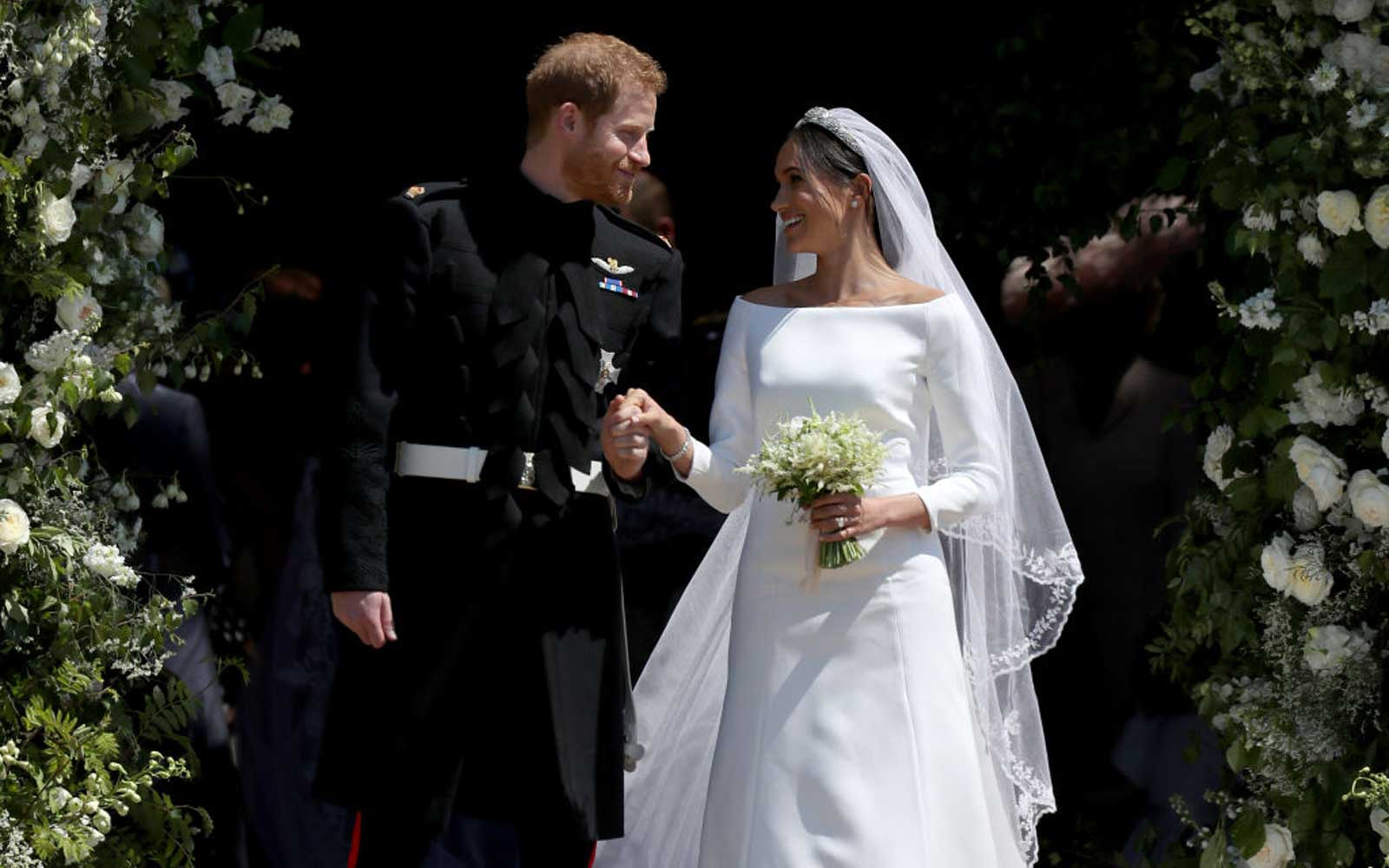 Prince Harry and Meghan Markle the Duke and Duchess of Sussex