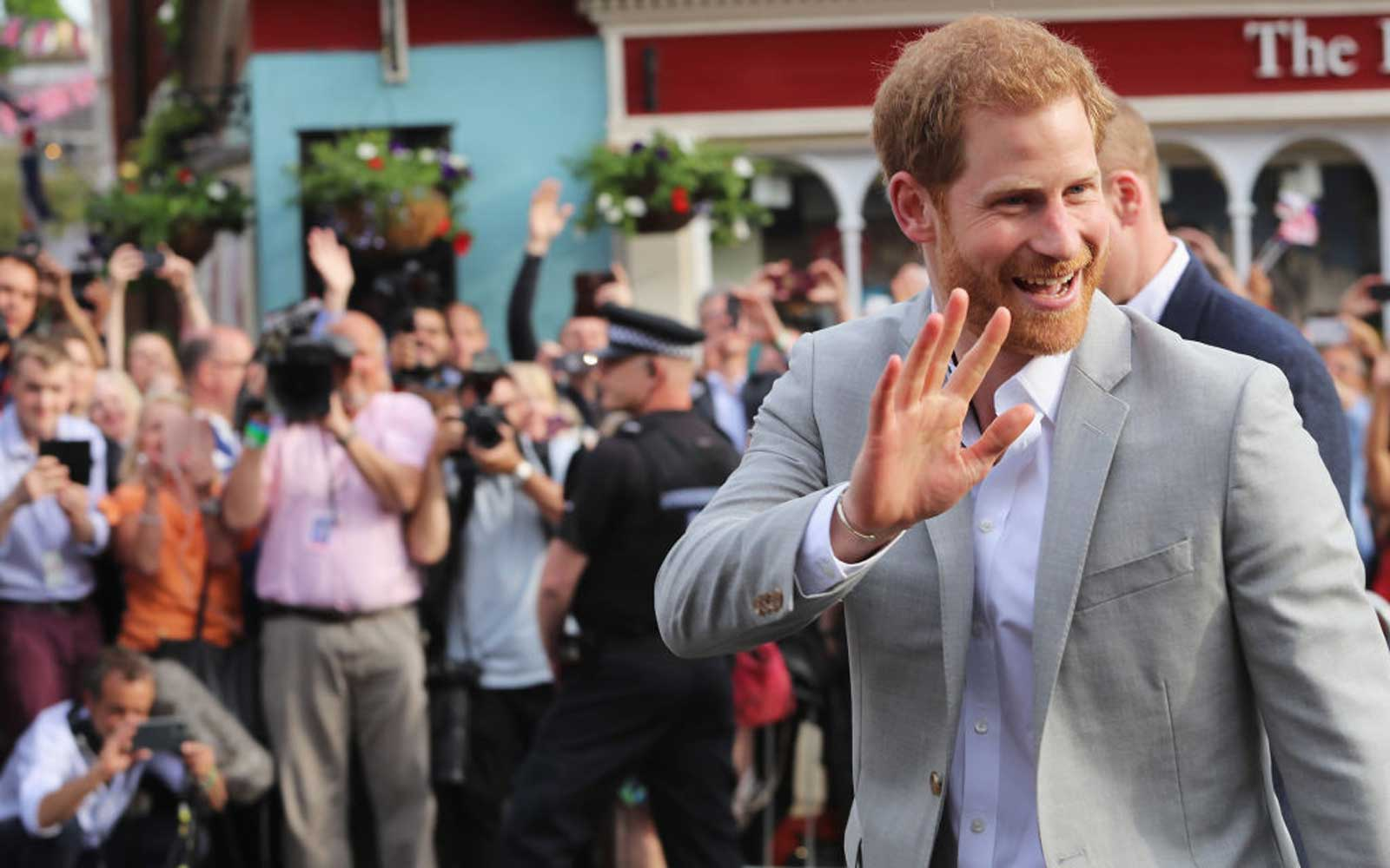 Prince Harry Just Made His Last Pre-wedding Appearance and He Looks so Excited (Video)