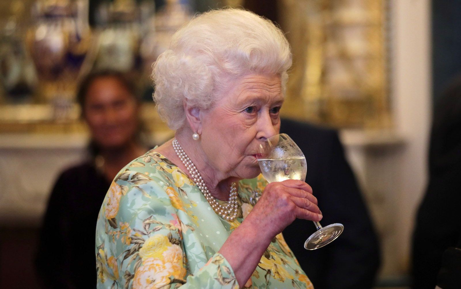 Queen Elizabeth Owns a Bar Shaped Like a Giant Grasshopper, and You Can Too