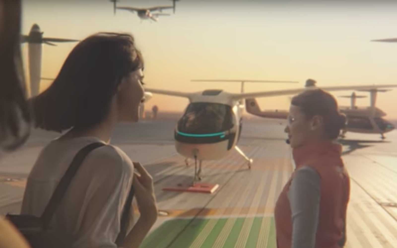You Could Be Taking a Flying Uber As Soon As 2020 (Video)