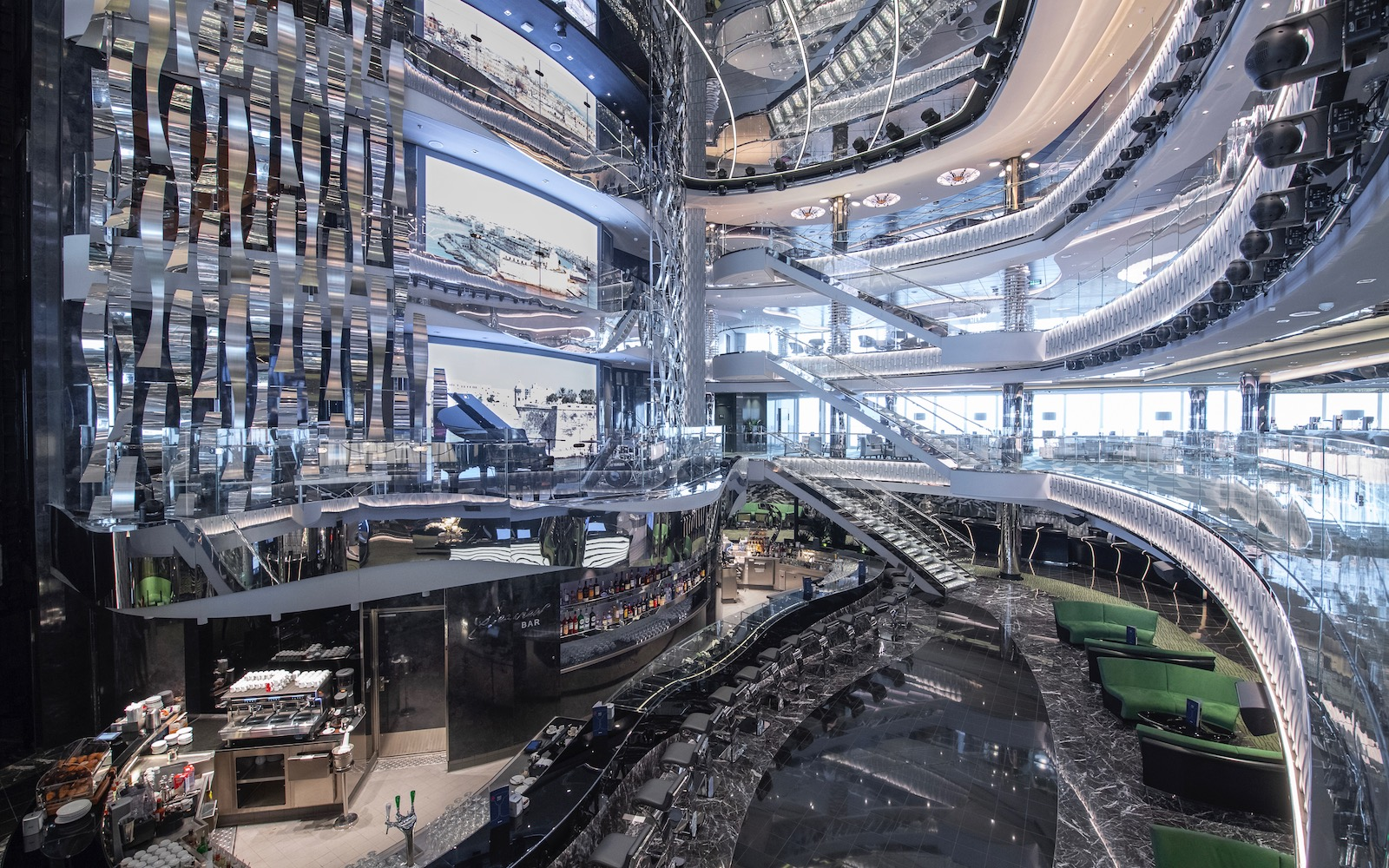 A Look Inside MSC Seaview, the Brand New Luxury Megaship ...