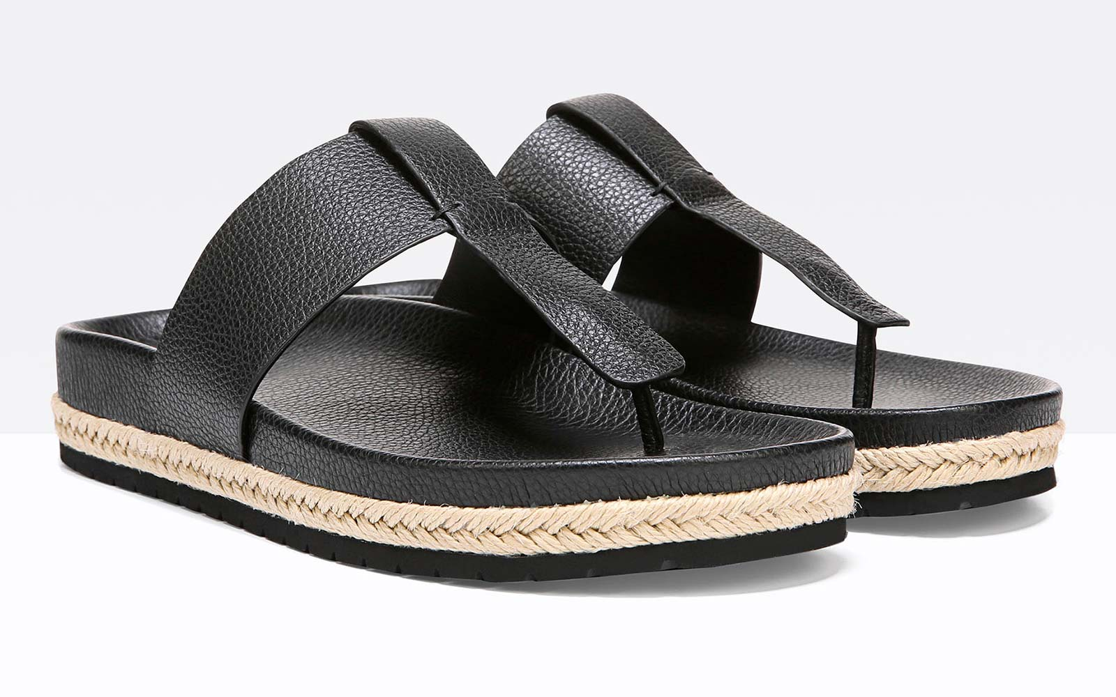 Vince Beach Capsule Collection Fashion Avani Leather Sandals