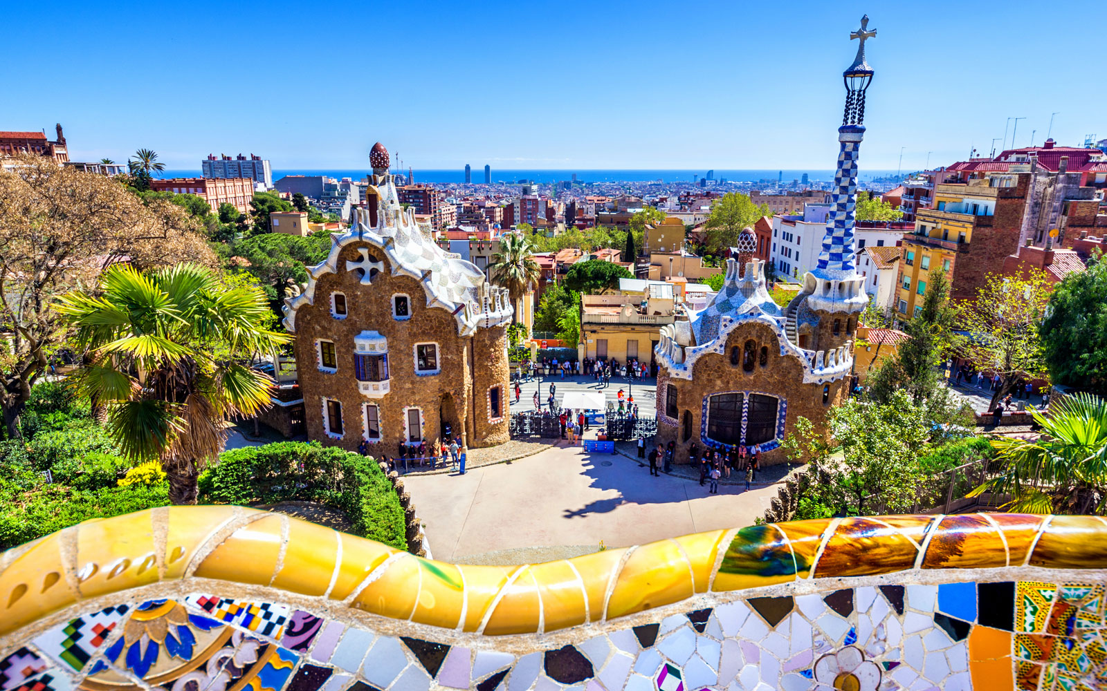 Barcelona is one of the world' most searched destinations.