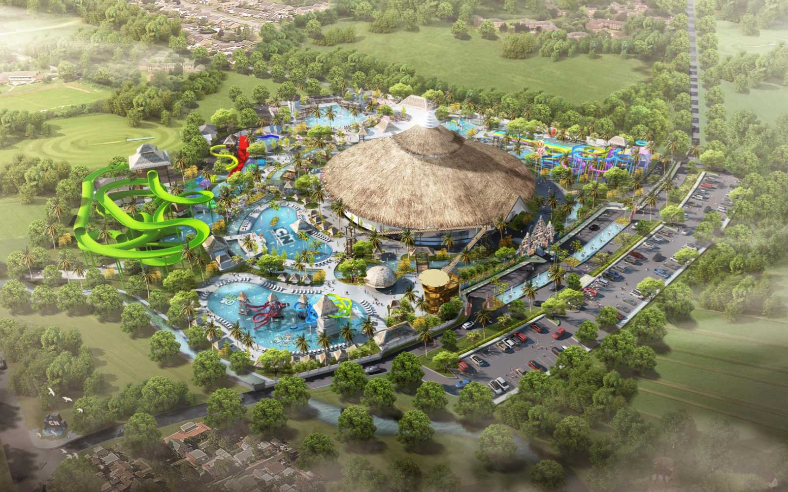 A Cartoon Network Theme Park Is Coming to Bali and Adults Are Invited, Too