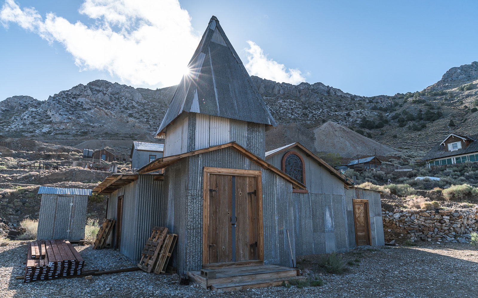 California ghost town with hotel, church on sale for $925000