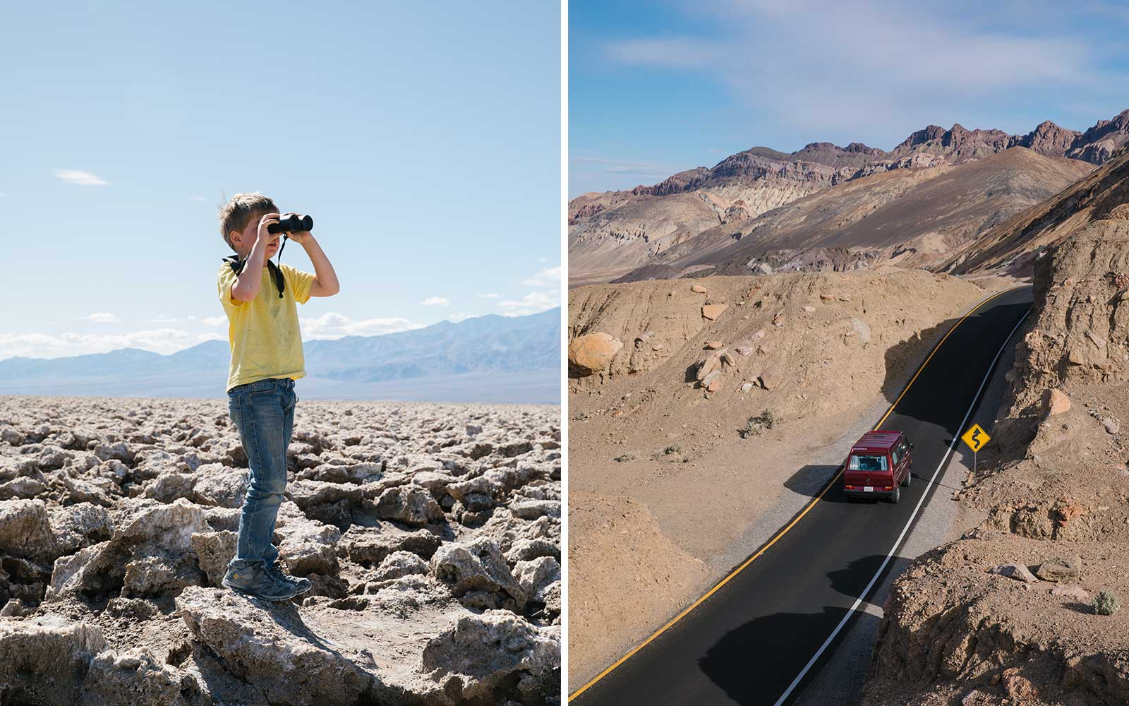 Scenes from Death Valley in California