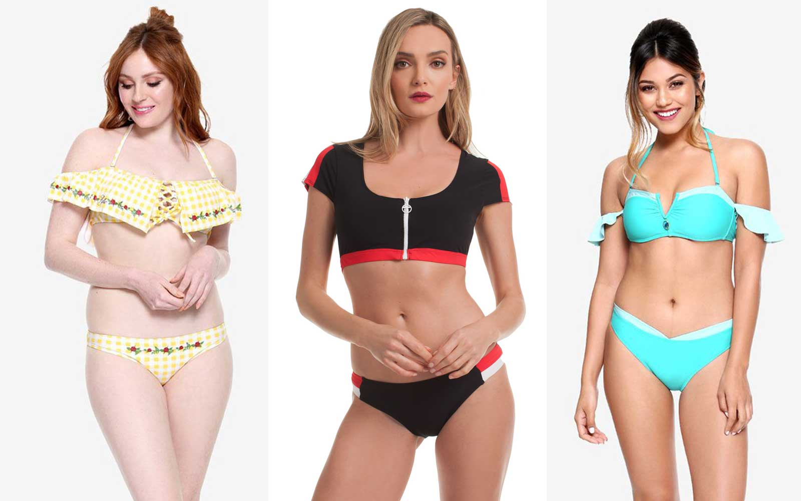 Channel Your Inner Disney Princess With These Cute Swimsuits