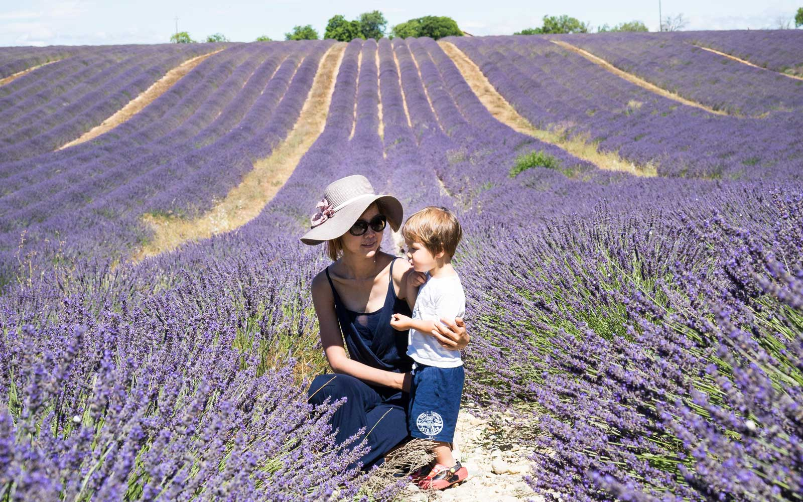Winnie and Julian in Provence