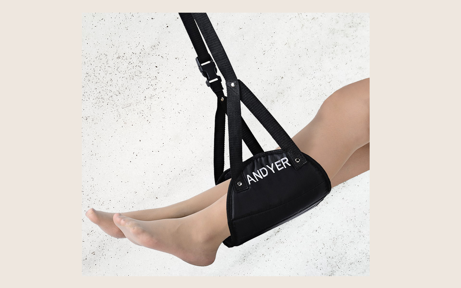Andyer Portable Travel Footrest