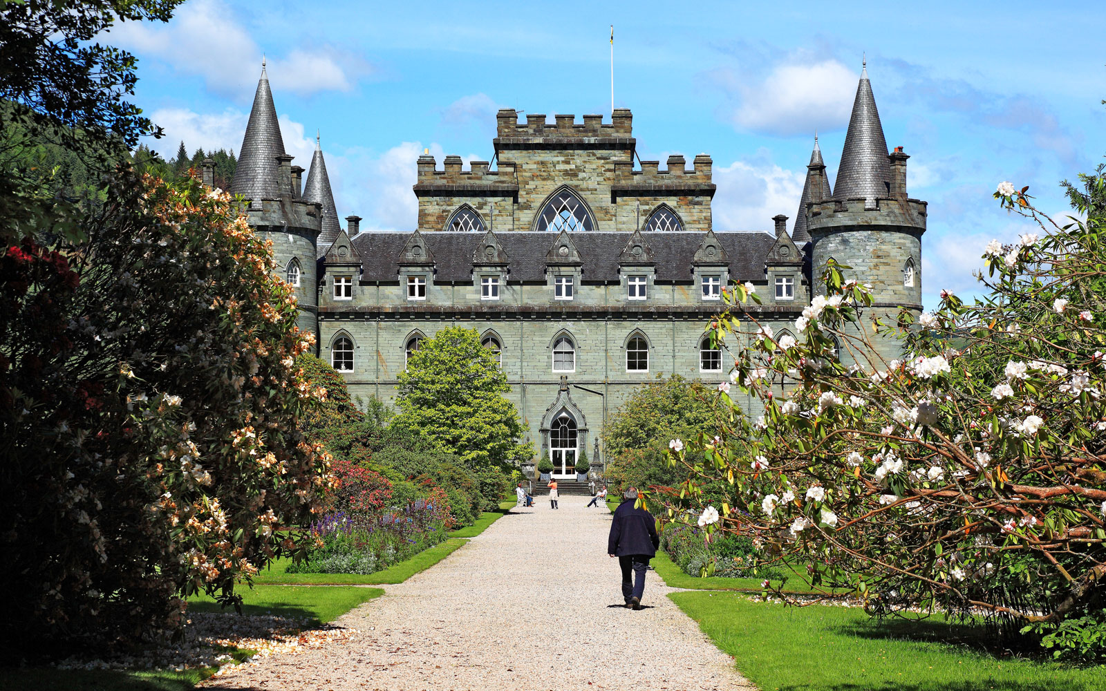 Inveraray Castle in Scotland